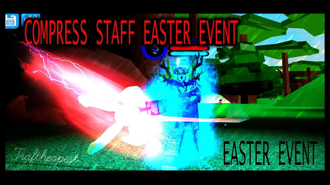 Easter Event Boku No Roblox Remastered How To Get Mr Compress S Staff