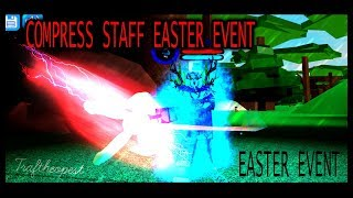 EASTER EVENT Boku No Roblox: Remastered | How to get Mr Compress's Staff