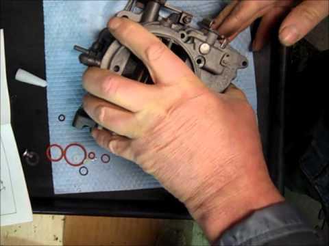 Rochester 2g 2GC 2 Jet Carburetor Rebuild Part 6