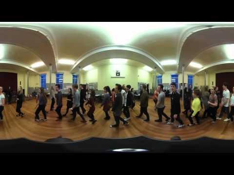 Aberdeen Youth Music Theatre AYMT Jekyll & Hyde rehearsal