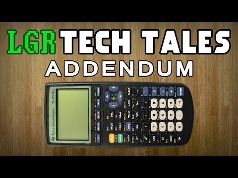 Why Are Texas Instruments Calculators So Expensive? LGR Tech Tales Addendum