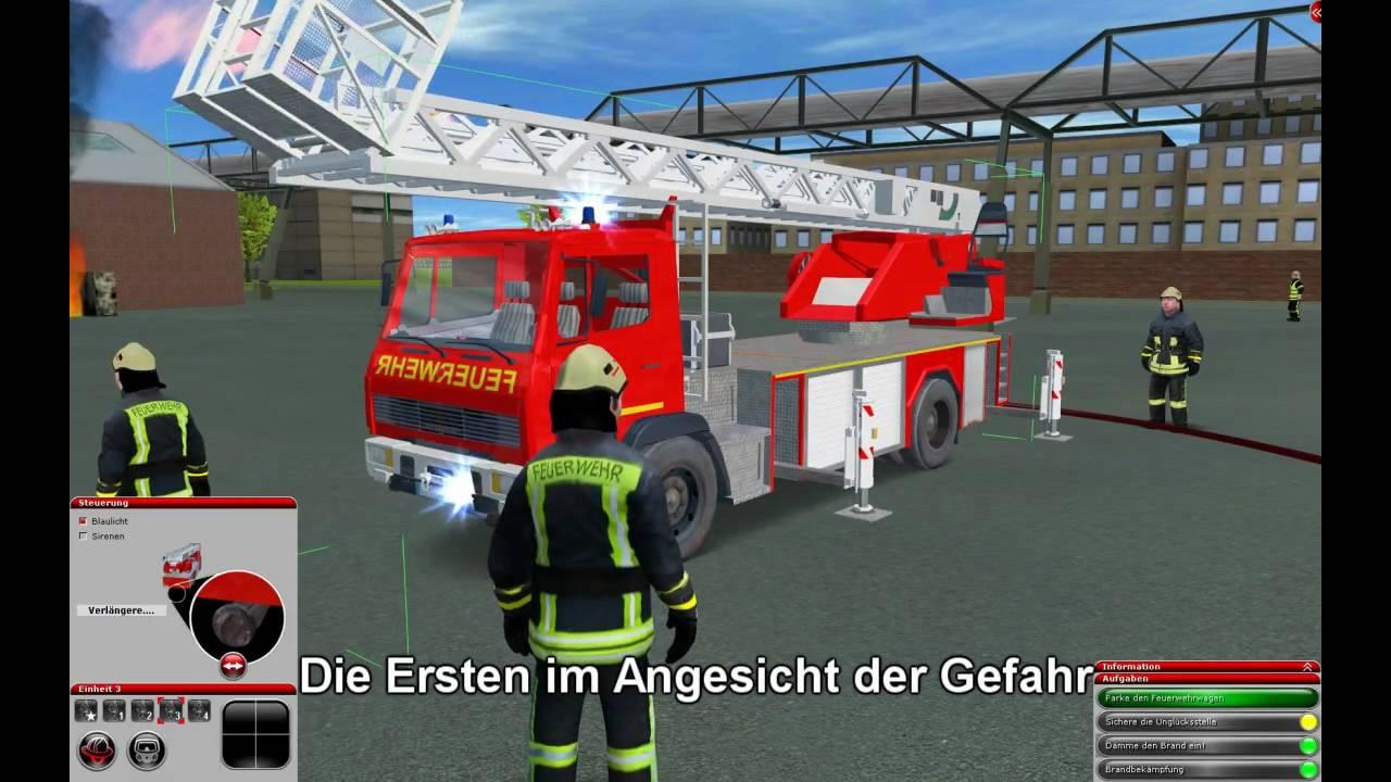 Feuerwehr-Simulator 2010 trailer - YouTube