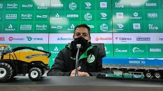 Entrevista coletiva Marquinhos Santos