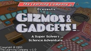 Super Solvers: Gizmos And Gadgets gameplay (PC Game, 1993)