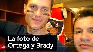 Mauricio Ortega y Tom Brady, la foto antes del robo - Despierta con Loret