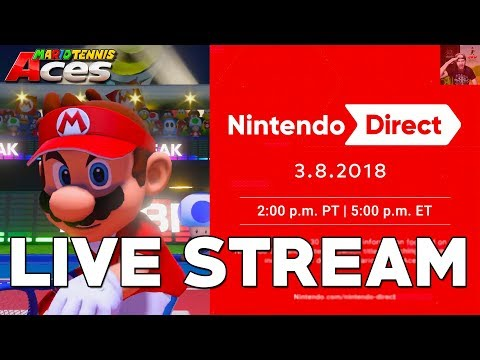 how to watch nintendo direct live