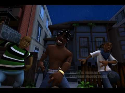 2PAC CARTOON LIFES SO HARD (PRODUCED & DIRECTED BY ALLAH EL HENSON)THE ORIGINAL POST!!!