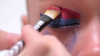 BA STAR 3 Color Glitter Eye- Red, Silver & Navy Glitter Thumbnail