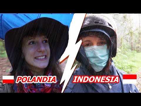 Hujan di INDONESIA vs. POLANDIA - Globe in the Hat #23