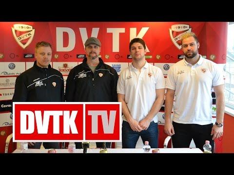 A MOL Liga elődöntő előtt | 2016. február 23. | DVTK TV