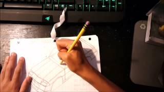 3rd gen Camaro Drawing Time Lapse