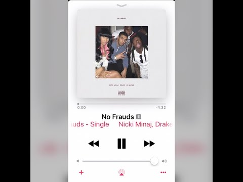 Nicki Minaj - No Frauds Feat. Drake & Lil Wayne OFFICIAL SONG(REMY MA DISS???)