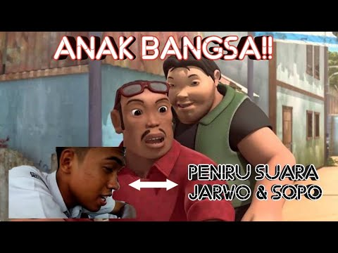 Mirip!!!! Peniru Suara Animasi Jarwo Dan Sopo?