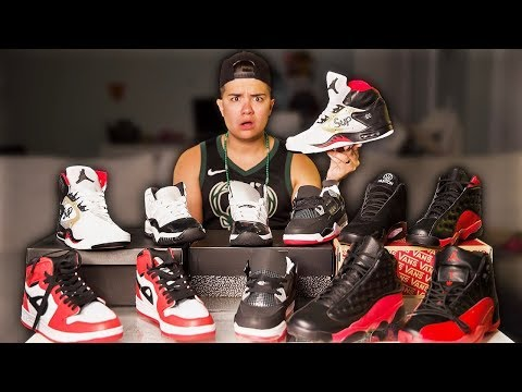 I Bought EVERY Pair Of Jordans From Wish App - Shoe Vlog