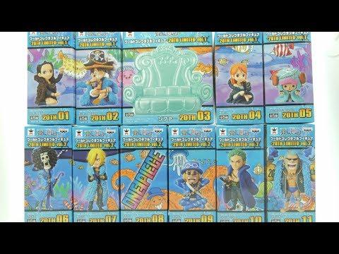 รีวิวแบบบ้านๆ : One Piece WCF(World Collectable Figure ) 20th Limited Vol.1.1-1.2