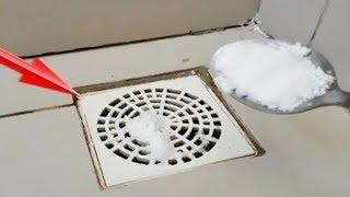 Verwende Salz für Abflüsse in deinem Haus - In nur wenigen Tagen passiert etwas Unglaubliches!