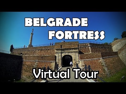 Passeio Virtual pela FORTALEZA DE BELGRADO | BELGRADE FORTRESS Virtual Tour