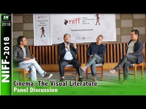 Cinema The Visual Literature | Panelists Anup Baral, Buddhi Sabar, Tirth Shreshtha