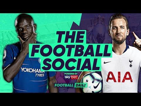 CHELSEA 2-0 TOTTENHAM   TRIPPIER HORROR OWN GOAL FINISHES SPURS! #TheFootballSocial