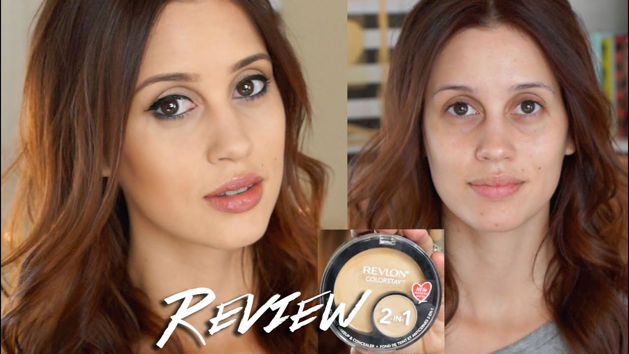 Revlon Colorstay 2 in 1 Foundation Compact Review - YouTube