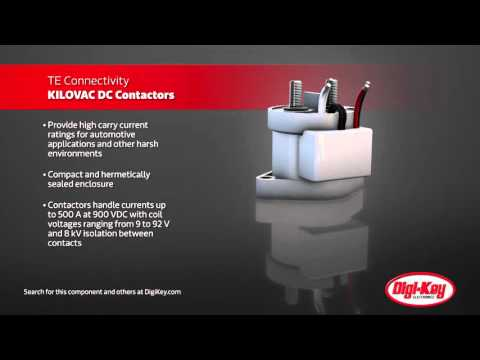 TE Connectivity Kilovac Lightweight DC Contactors | Digi-Key Daily
