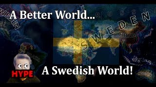 Hearts of Iron 4 - UPDATED MODERN DAY MOD! - Sweden!
