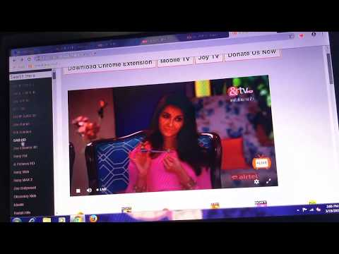 How To Watch Jiotv Airtel TV In Computer Laptop Using Extension