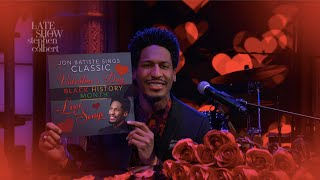 Jon Batiste Sings Classic Valentine's Day Black History Month Love Songs