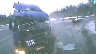 Horrible Road Accidents Brutal Car Crashes #19  - 2017