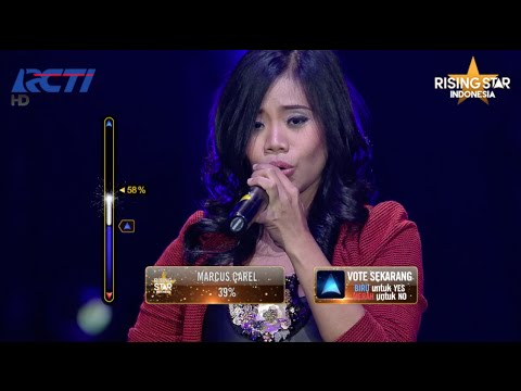 """Evony Arty """"Hidding My Heart' Adele - Rising Star Indonesia Final Duels 2 Eps. 14"""