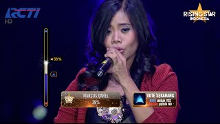 "Evony Arty ""Hidding My Heart' Adele - Rising Star Indonesia Final Duels 2 Eps. 14"