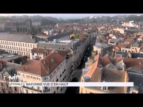 Vue d'en haut : le Petit Bayonne