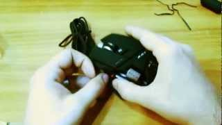 Gaming Mouse Cyborg R.A.T. 5 - UNBOXING
