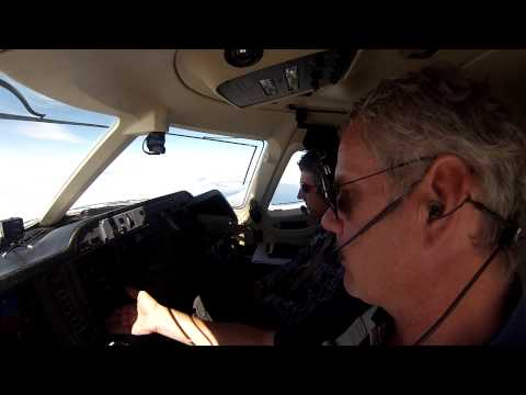 North Atlantic Ferry Flight in Private Jet-Leg 1 Berlin to Wick