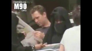 فضيحة منقبات عرب يأكلن بطريقة همجية في احد المطاعغم بامريكا فيديو صادم جدا