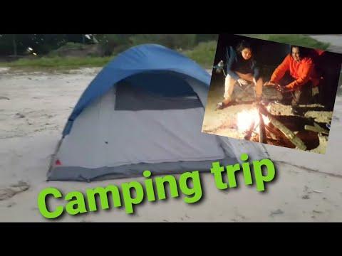 Overnight Camping & Fishing At Livingston Dam