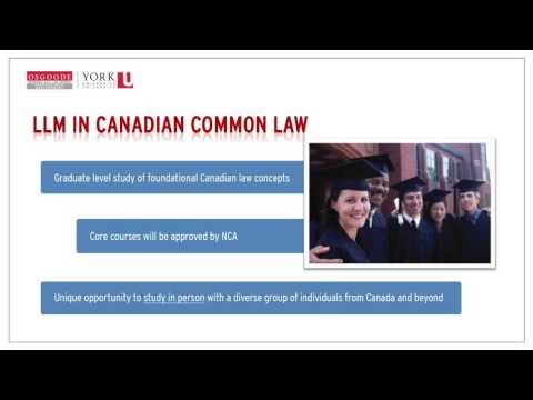 Programs for Internationally-trained Lawyers & Law Grads | On-Demand Information Session
