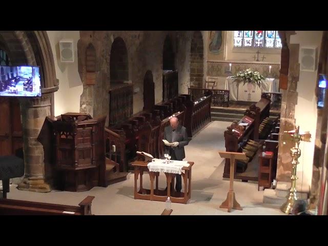 Canford Magna Parish Church  Communion  25/10/20