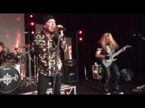 Michael Guy Shark Island lead guitarist Richard Black vocals - My City