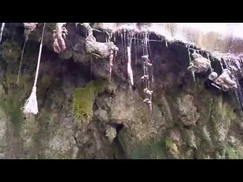 The Petrifying Well at Mother Shipton's Cave in Knaresborough North Yorkshire England 2015