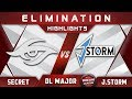 Secret vs J.Storm [TOP 6] Stockholm Major DreamLeague Highlights 2019 Dota 2