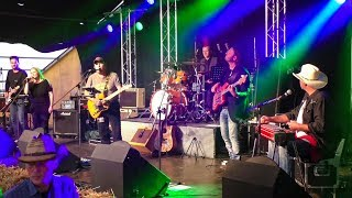 Tom Lee & Band   All You Ever Do Is Bring Me Down  @ Country Night Schwarzsee 2017