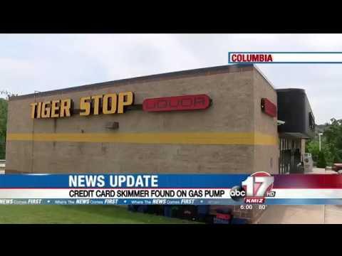 Credit card skimmer found in Columbia gas pump