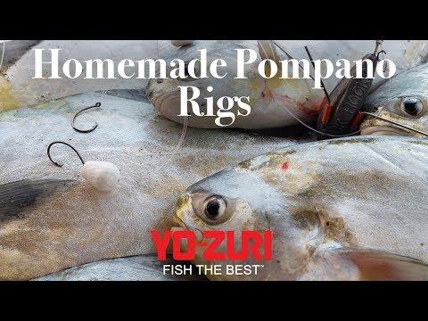Pompano Fishing: Homemade Rigging