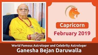 4f9b14394 CAPRICORN FEBRUARY 2019 ASTROLOGY HOROSCOPE FORECAST BY ASTROLOGER GANESHA  BEJAN DARUWALLA ...
