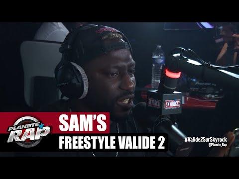 Youtube: [EXCLU] Sam's«Freestyle Validé 2» #PlanèteRap