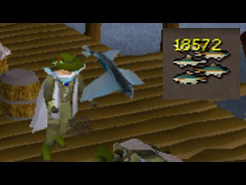 NEW Best Way To Obtain Sharks On OSRS (any Account)