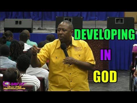 Developing In GOD - Apostle Andrew Scott