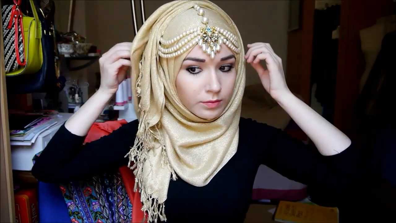 Hijab Tutorial l EID - YouTube