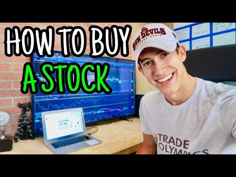 How To Buy Your First Stock For Beginners